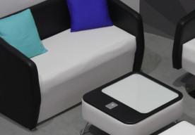 black-upholstery